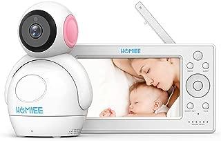 Video Baby Monitor, HOMIEE 720P Digital Camera, 5