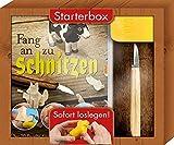 Fang an zu schnitzen - Starterbox: Über 20 Projekte für Anfänger und Fortgeschrittene. Box mit...