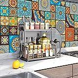 Tingz 20Pcs Pegatinas para azulejos(15x15cm),Adhesivo para azulejos de pared para decoración del...