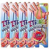 Grandi-Giochi Ztringz Original Rainbow Rope Corde Strings Jouet Elastique Nylon Bricolage Jouet Arc en Ciel Jeux Éducatifs (4 Ztringz)