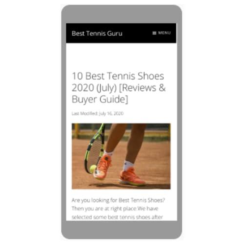 Best Tennis Guru APP (WEB)