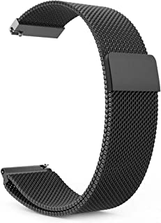 Gear S3 Watch Band, Milanese Loop Stainless Steel Bracelet Smart Watch Strap for Samsung Gear S3 Frontier / S3 Classic / M...
