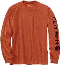 Carhartt Men's Big & Tall Signature Sleeve Logo Long Sleeve T-Shirt