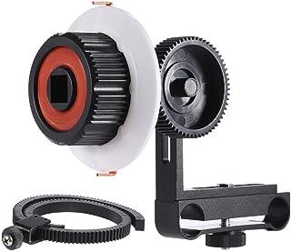 Blue Serounder Focusing Handle Lever,Durable Adjustable Zoom Follow Focus Focusing Handle Lever Photography Accessory for DSLR Digital Camera Camcorder HDTV HDTV HD DSLR Camera
