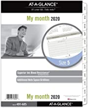 AT-A-GLANCE 2020 Monthly Planner Refill, Day Runner, 8-1/2