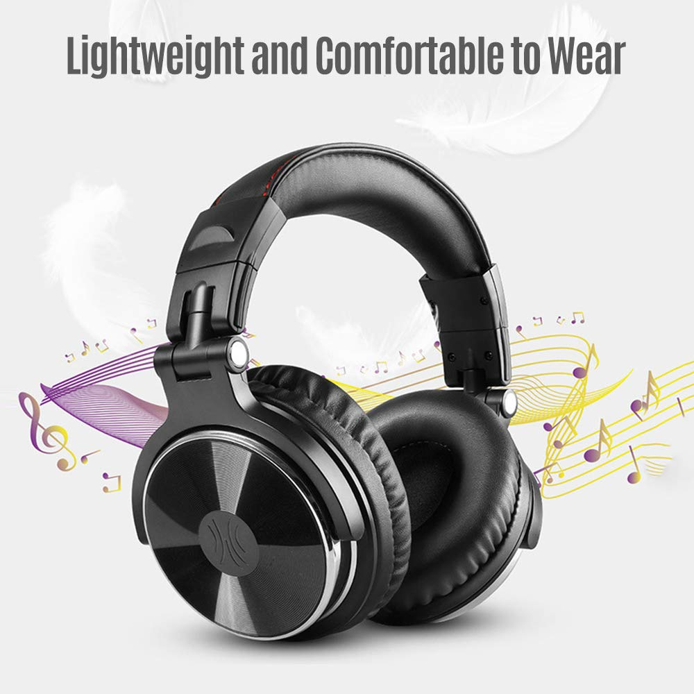 negaor Professional Musical Instrument Headphones Wired Headset with 3.5mm /& 6.5mm Audio Cables for Electrical Piano Electronic Keyboard Drum Machine Electric Guitar headphones