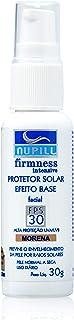 Protetor Solar Facial FPS30 Base Morena Nupill 30g, Nupill, Marom Claro