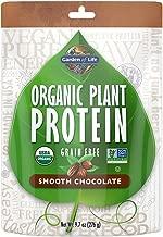 Garden of Life Organic Protein Powder - Vegan Plant-Based Protein Powder, Chocolate, 9.7oz (276g) Powder