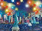 Buffalo Games - Cities in Color - Manhattan Celebration - 750 Piece Jigsaw Puzzle