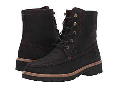 Sperry A/O Leather Lug Boot (Black) Women