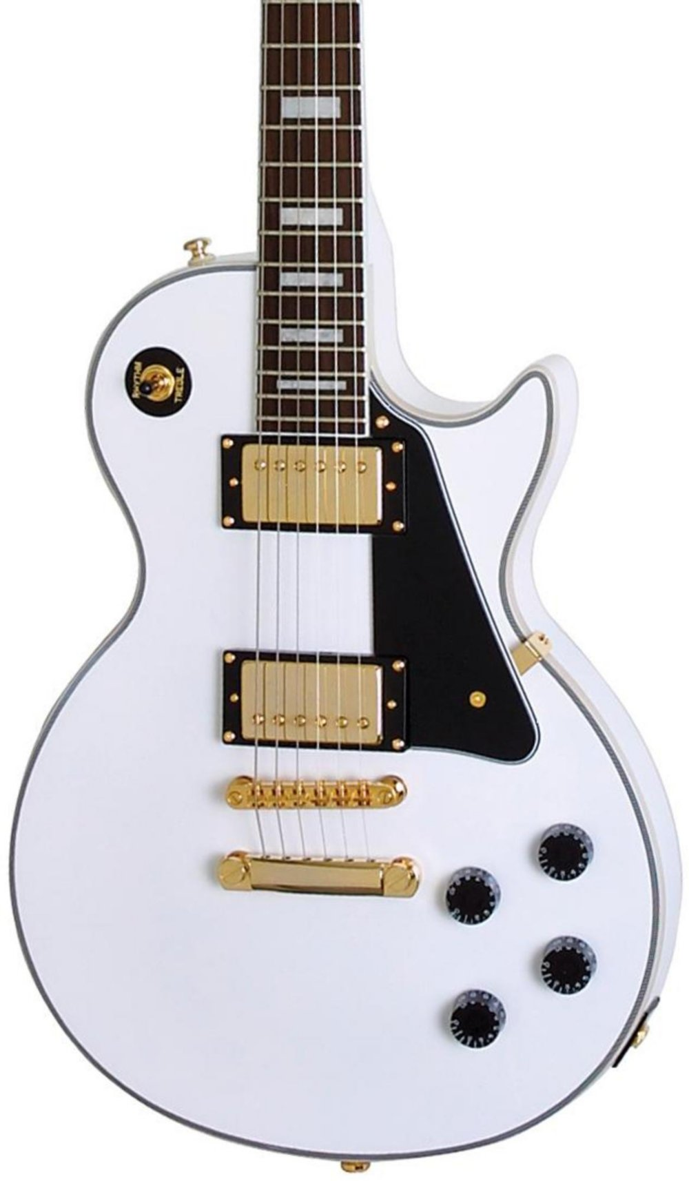 Cheap Epiphone Les Paul CUSTOM PRO Electric Guitar with Coil Tapping Alpine White Black Friday & Cyber Monday 2019