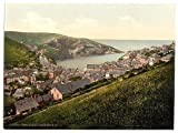 Foto: Puerto Isaac, buscando S.W., Cornwall, Inglaterra, c1895