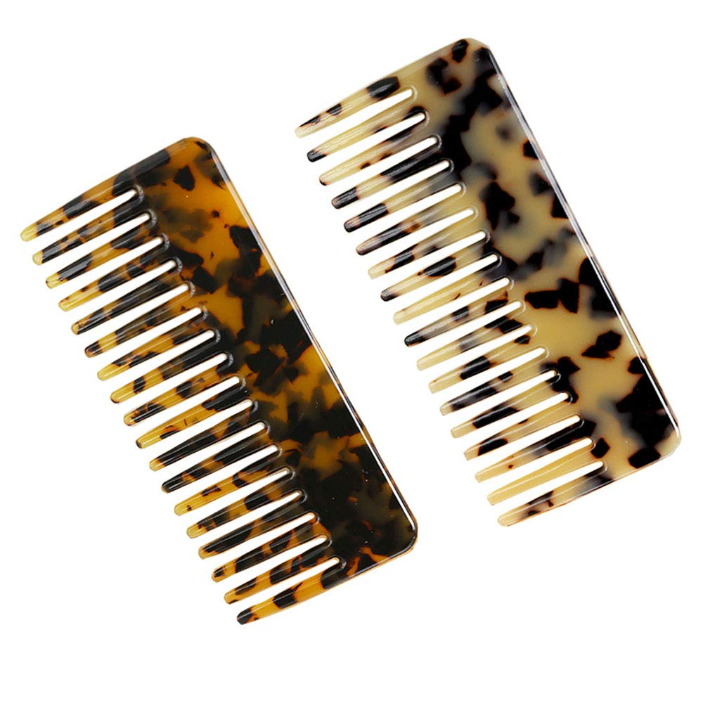 2-Pack Large Hair Detangling Comb Popular product Limited time cheap sale P Wide French Teeth