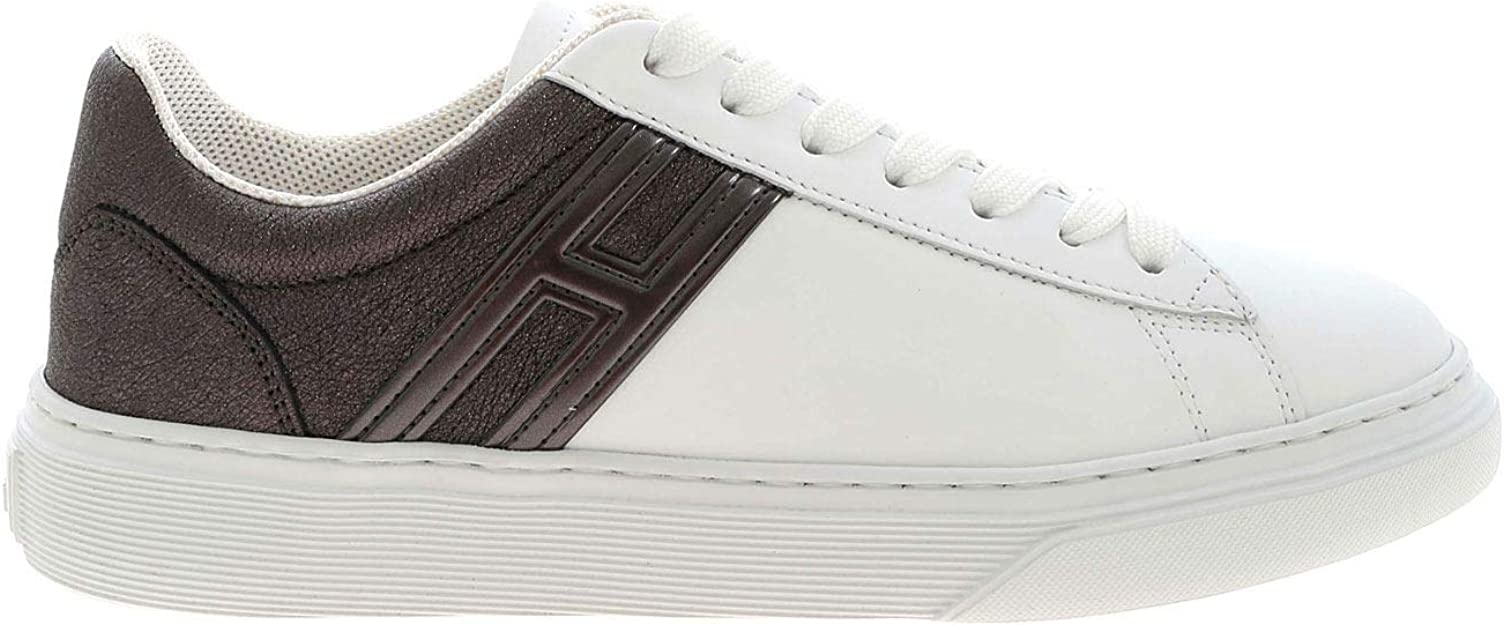 Hogan Sneakers H365 Bianche E Antracite HXW3650J971OXE4999 Donna ...