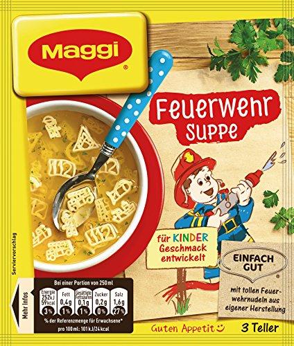 Maggi Feuerwehr Suppe, 18er Pack (18 x 53 g)