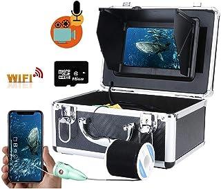 WiFi inalámbrico de 16 GB de grabación de Video DVR Fish Finder, Monitor de 7 Pulgadas + cámara de Pesca submarina IR de 6...