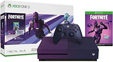 Xbox One S 1TB Console - Fortnite Battle Royale Special Edition Bundle (Renewed)