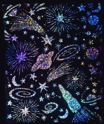 Melissa & Doug Scratch Art Soft-Scratch Boards Scratch and Sparkle Glitter Board