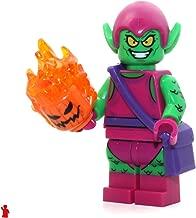 LEGO Marvel Super Heroes Green Goblin Minifigure 76057 Mini Fig