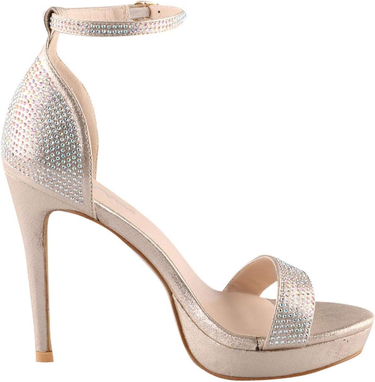 Platform Sandals Women Buckle Strap Summer Sexy High Heel Party shoes Sandalie Ladies Sandals