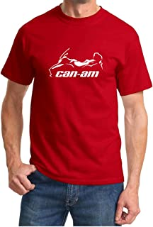 Can Am Spyder Roadster RT Classic Motorcycle Outline Design Tshirt