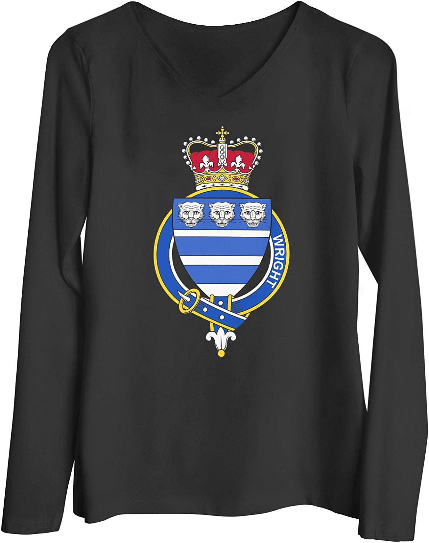 HARD EDGE DESIGN Women's English Garter Family Wright T-Shirt