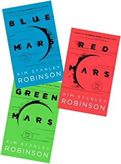 [MARS TRILOGY] RED MARS, GREEN MARS [and] BLUE MARS.