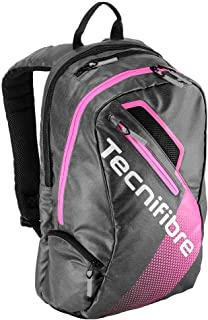 Women`s Endurance Tennis Backpack Black and Pink-(3490150177566)
