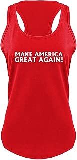 Ladies Make America Great Again T Shirt Donald Trump Racerback