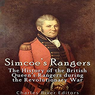 Simcoe's Rangers audiobook cover art