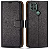 Case Collection Premium Leather Folio Cover for Motorola Moto G9 Power Case (6.8') Magnetic Closure Full Protection Design Wallet Flip with [Card Slots] and [Kickstand] for Moto G9 Power Phone Case