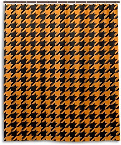 DuschvorhangHahnentritt -Muster -Druck Polyester Duschvorhang für Home Bad Dekorative Bad Gardinen 72 x 72 in