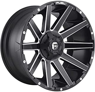 "D616 Contra 22x10 8x180-18 Matte Black Milled Wheels(4) 22"" inch Rims"