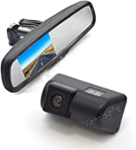 Vardsafe VS302R Reverse Backup Camera & Replacement Rear View Mirror Monitor for Ford Transit Connect (2010-2018)
