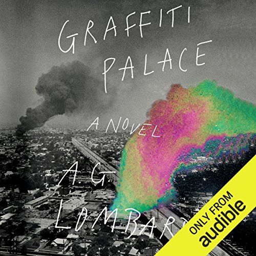 Graffiti Palace audiobook cover art