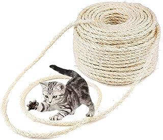 Parain Sisalseil für Kratzbaum Kratzsaule Katzenbaum Katzen Natürlich Sisal Seil 6mm