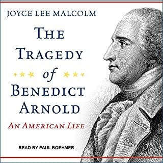 The Tragedy of Benedict Arnold audiobook cover art