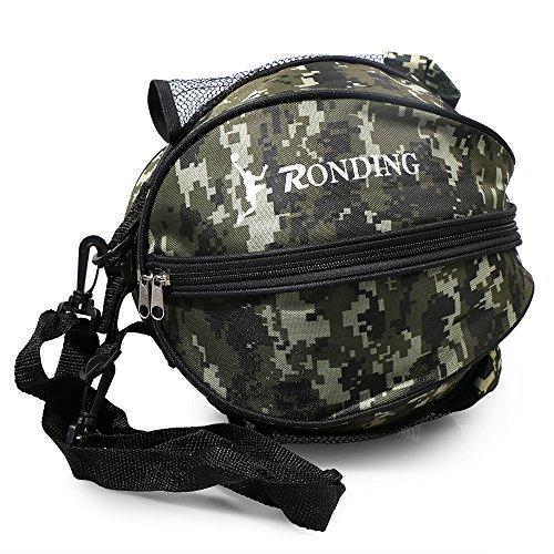 Lixada basketbaltas, ronde schoudertas, ronde tas voor bal sport, voetbal bal volleybal draagtas reistas voor mannen en vrouwen