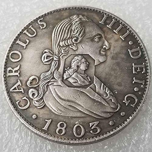 DDTing Best Morgan Silver Dollars – Moneda Antigua del Reino Unido – 1803 – Colección de Monedas – Plata Dólar Old Coin GoodService