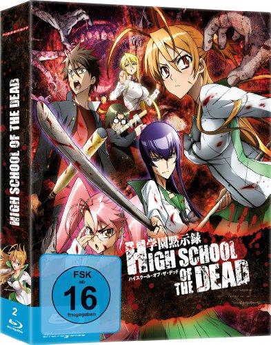 Highschool of the Dead - Gesamtausgabe - [Blu-ray] Uncut
