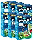 P 6 Joueurs de Foot Italie Playmobil Sports