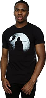 Hombre Rogue One Death Star Darth Vader Silhouette Camiseta