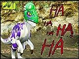 Clip: Custom Joker Dinosaur