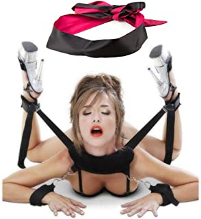 Thigh Cuffs Bed Restraints for Sex Play Thigh Restraint...