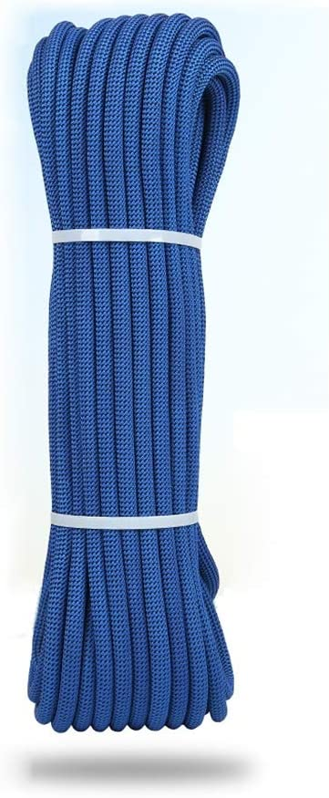 Equipo de escalada cuerda de escalada azul con un peso de 42 ...