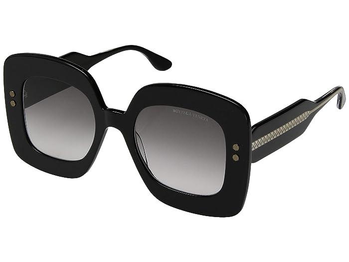 Bottega Veneta BV0237S (Black) Fashion Sunglasses