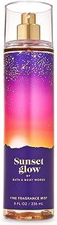 Bath And Body Works Fine Fragrance Mist Sunset Glow 236ml - Blend Of Sparkling Cherry Seltzer, Coconut & Moonflower Splash...