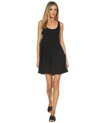 Michael Lauren Stone 100% Cotton Ruffle Tank Dress