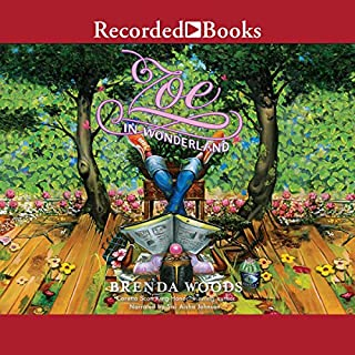 Zoe in Wonderland audiobook cover art