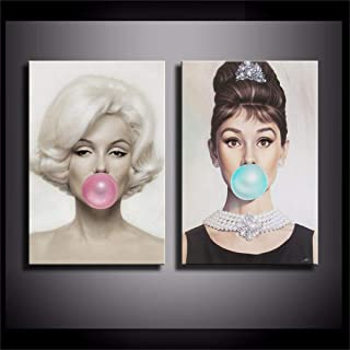 marilyn bubblegum print